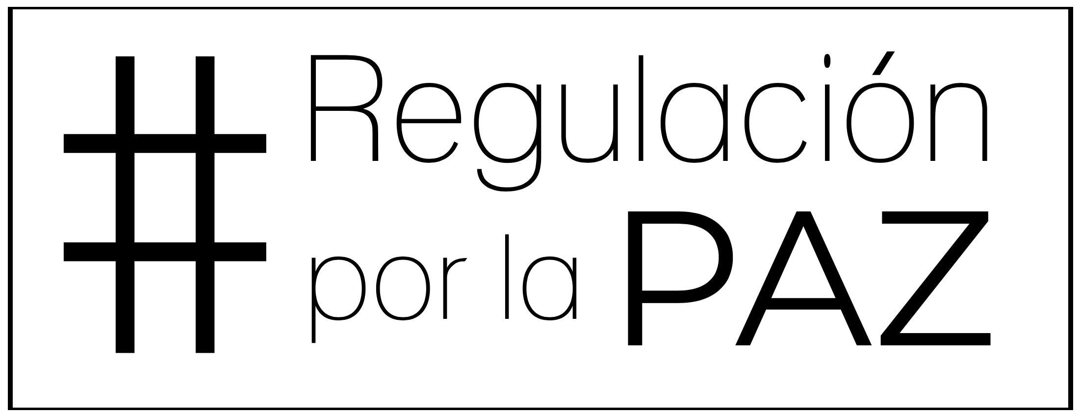 Regulación por la paz
